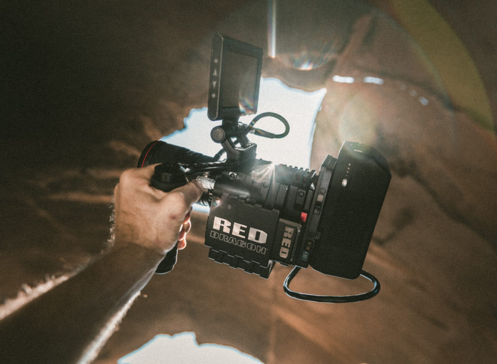 Film location shoot