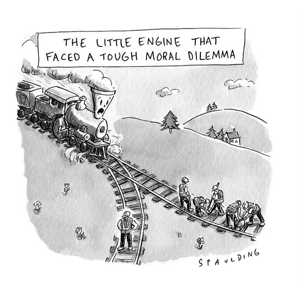 Tough Moral Dilemma cartoon